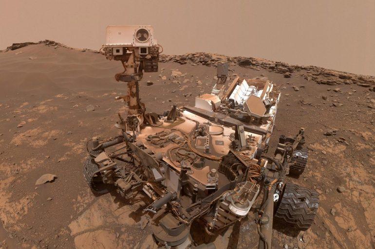 Марсохід Curiosity виявив на Марсі ознаки древніх повеней