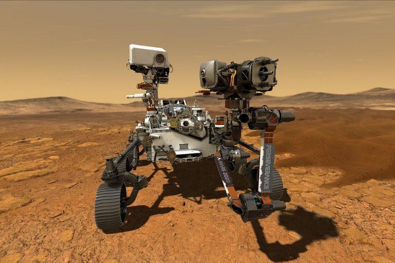 Марсохід Perseverance відправив на Землю аудіозапис свого перельоту на Марс