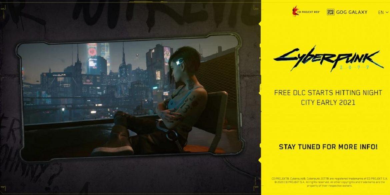 CD Projekt RED представили перше доповнення для Cyberpunk 2077