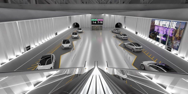 The Boring Company Илона Маска расширяет подземные туннели под Лас-Вегасом