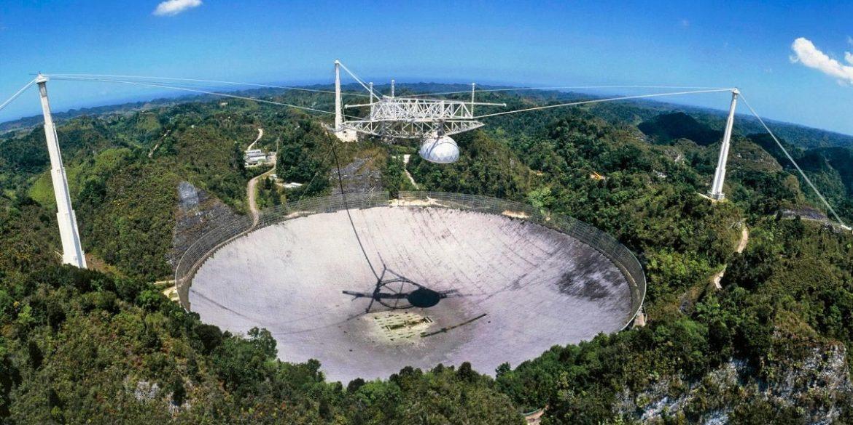 Опубліковано відео руйнування телескопа «Аресібо»