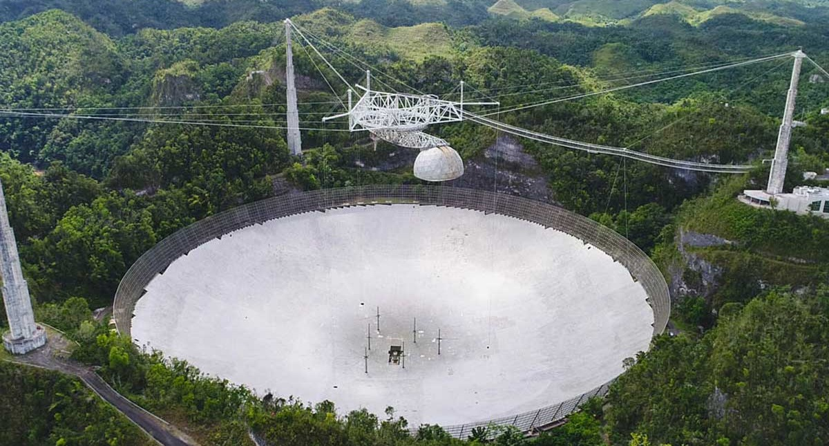 У Пуерто-Ріко обрушився телескоп Аресібо