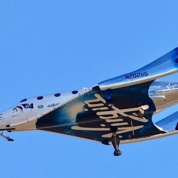 Virgin Galactic перервала випробування корабля через неполадки з двигуном