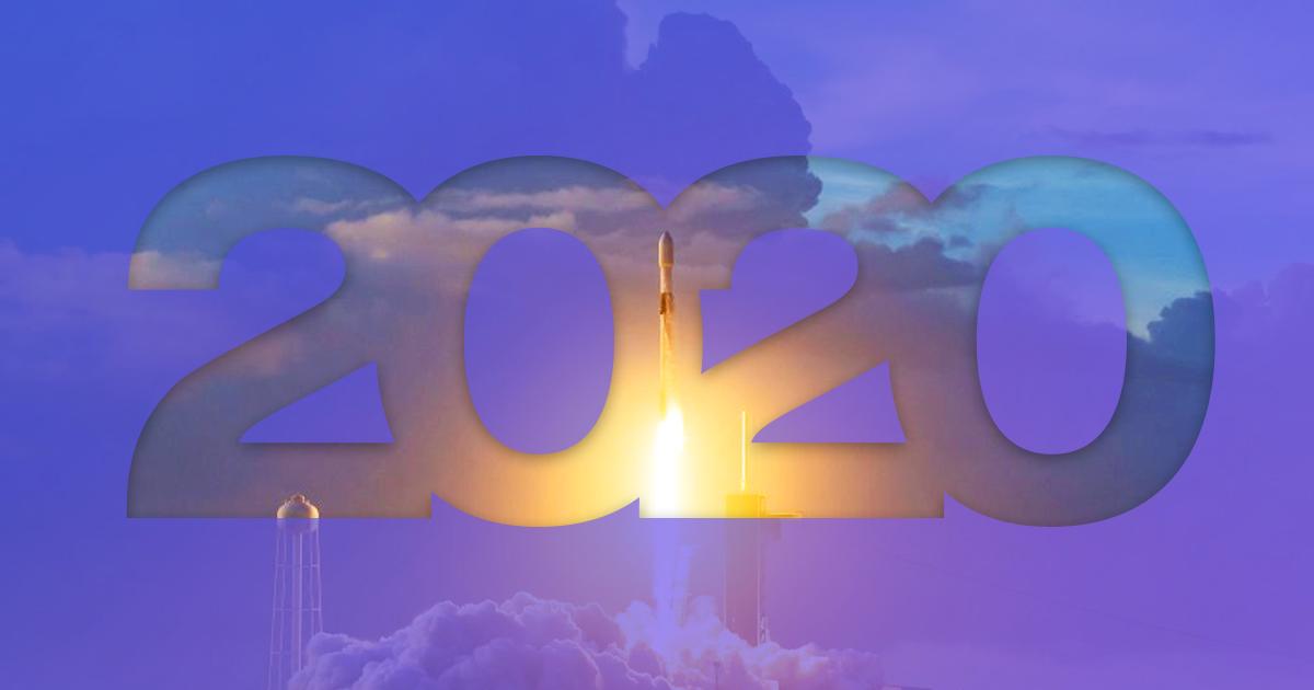 2020 рік у фотографіях: SpaceX, Марс, локдаун