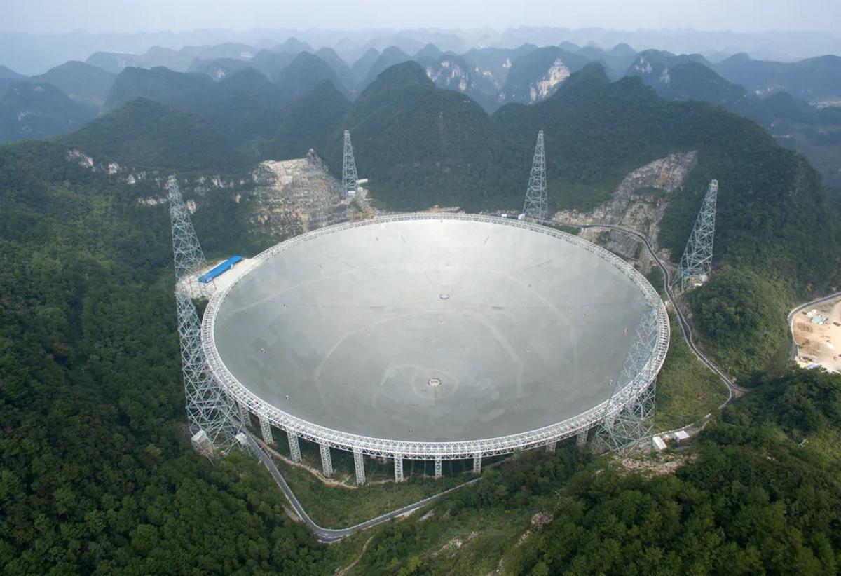 Китай відкриє для вчених зі всього світу свій гігантський телескоп