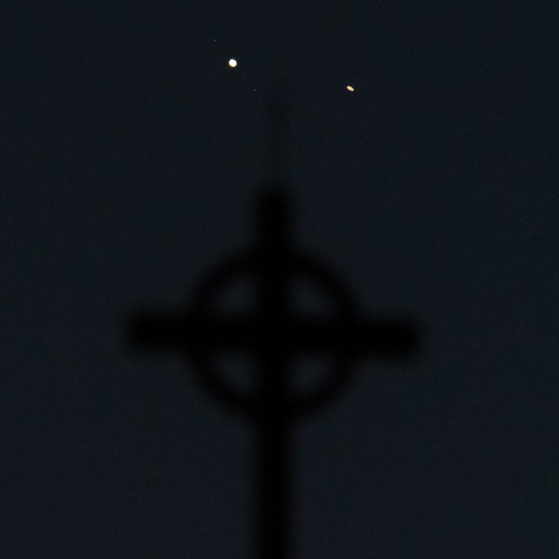 Як виглядало зближення Юпітера та Сатурна. «Віфлеємська зірка» від NASA
