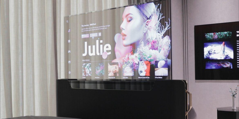 LG представив прототип ліжка з висувним дисплеєм