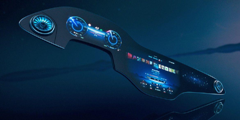 Mercedes-Benz представив 56-дюймовий «гіперекран» для електрокарів