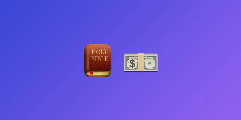 Невідомий залишив цитату з Біблії в блоці біткоіна #666666