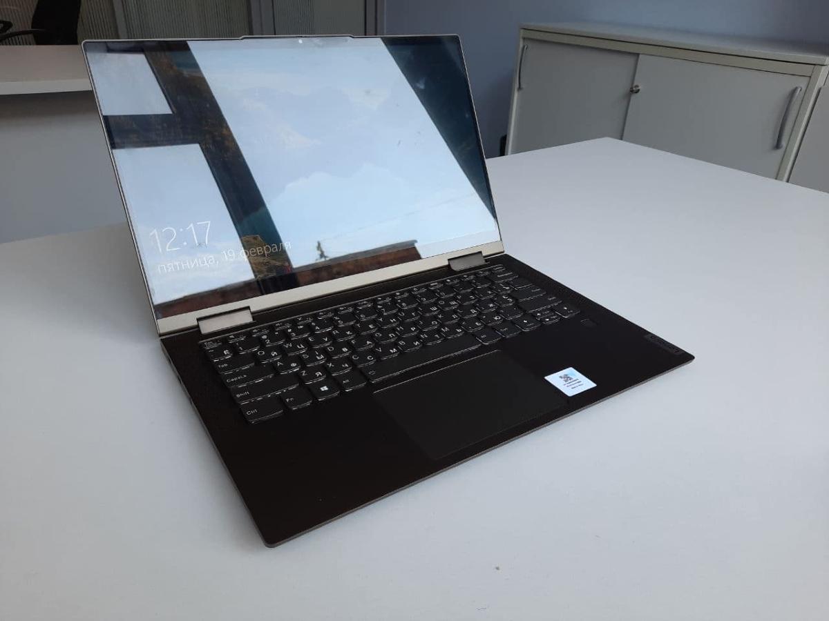 Огляд Lenovo Yoga 7i. Компактний трансформер з акцентом на безпеці