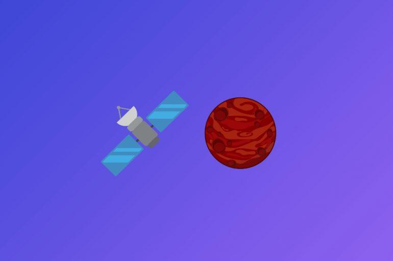 Первый арабский межпланетный зонд сегодня выйдет на орбиту Марса