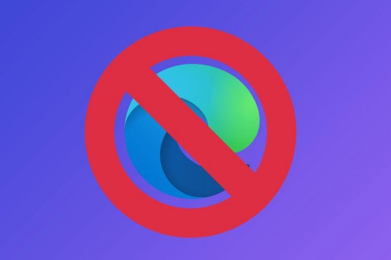 Microsoft відмовилася від браузера Edge