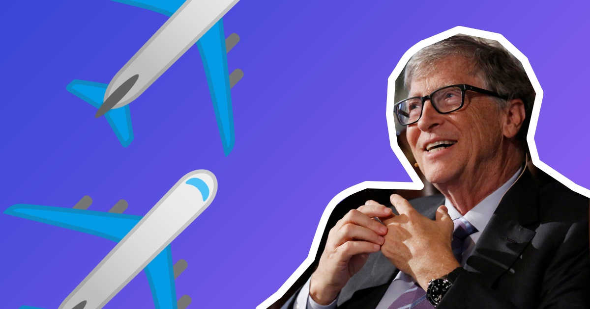 Білл Гейтс пояснює, чому ми не зможемо літати на електролітаках