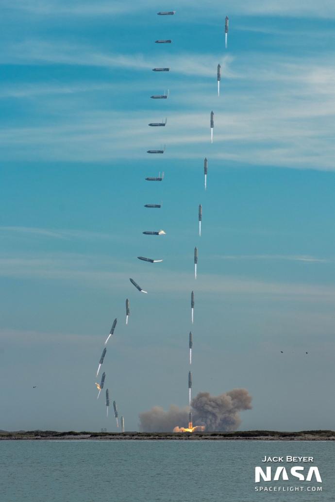 Фото: як виглядають наслідки вибуху космічного корабля Starship від SpaceX