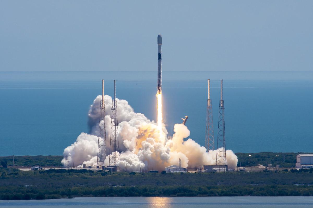 Як виглядав запуск 25-ї місії Starlink від SpaceX
