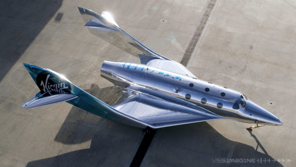 Как выглядит новый космический корабль Virgin Galactic - Virgin SpaceShip Imagine