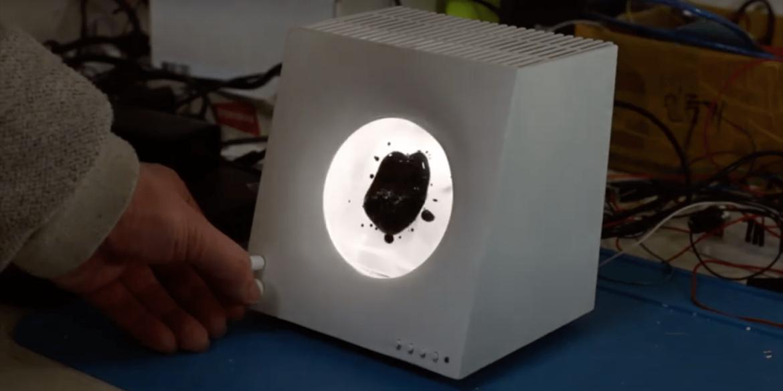 У Кореї створили Bluetooth-колонку з рухомою феромагнітною рідиною всередині