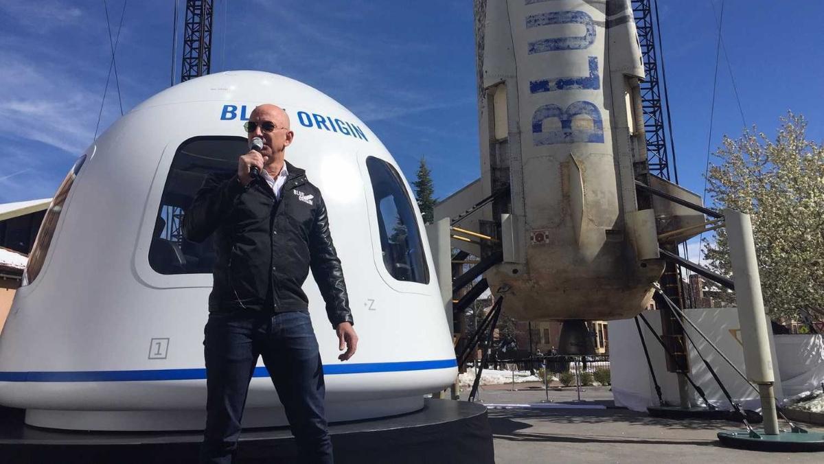 Blue Origin відкриває продаж квитків у космос