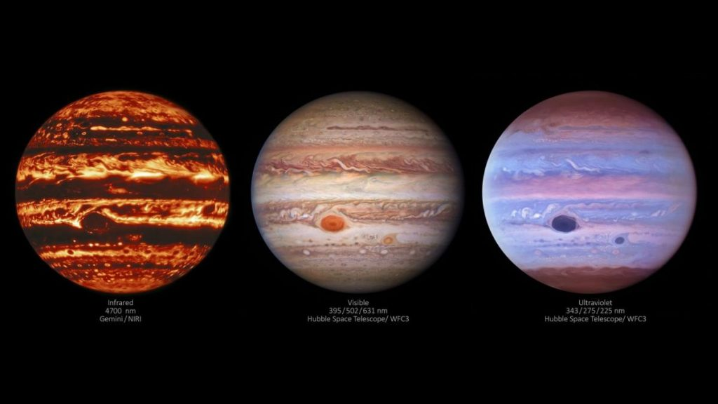 Нові знімки Юпітера розкрили вченим незвичайні особливості його атмосфери