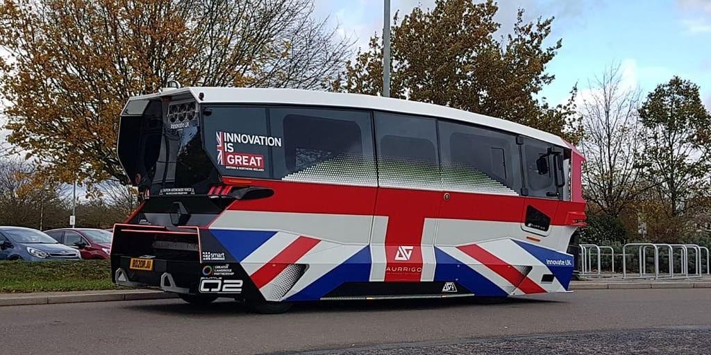 У Великій Британії влітку запустять перший маршрут безпілотного громадського транспорту