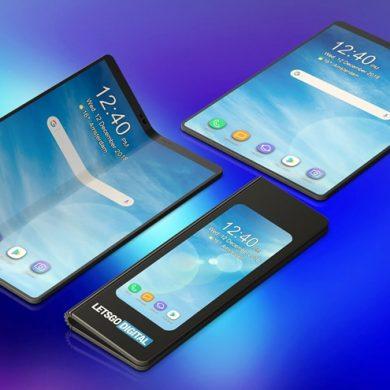 Samsung представить дисплей, здатний згинатися в декількох місцях