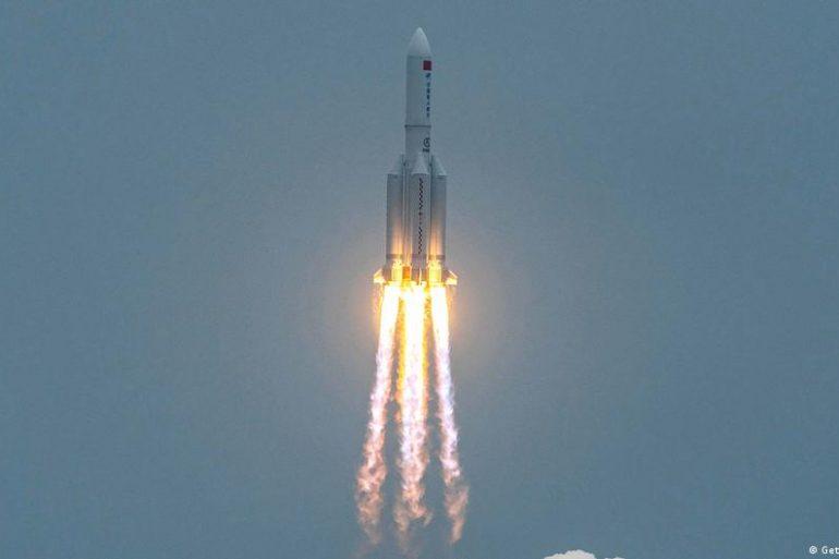 На вихідних китайська ракета-носій здійснить неконтрольоване падіння на Землю