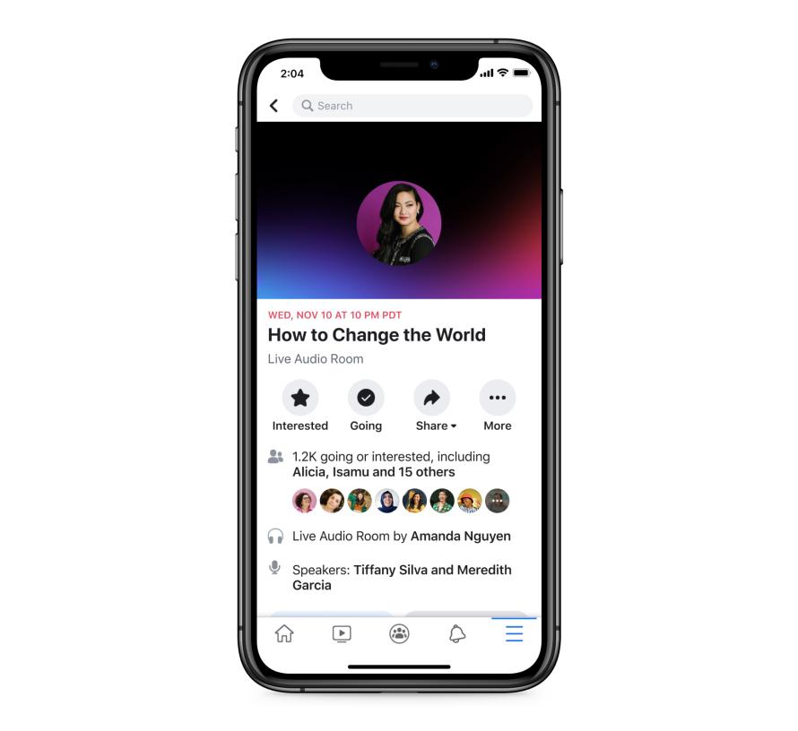 Facebook створила аналог Clubhouse. Як він працюватиме