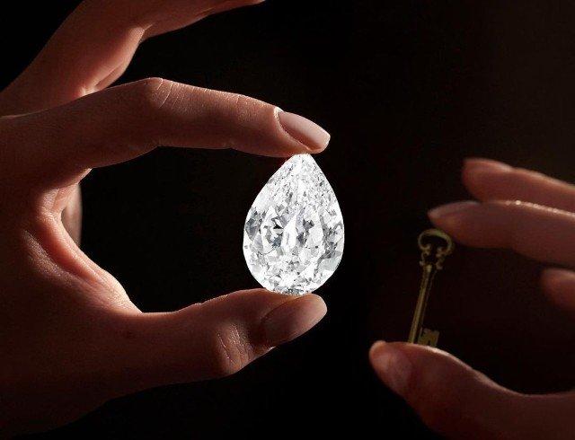 Sotheby's вперше виставив на торги діамант за криптовалюту