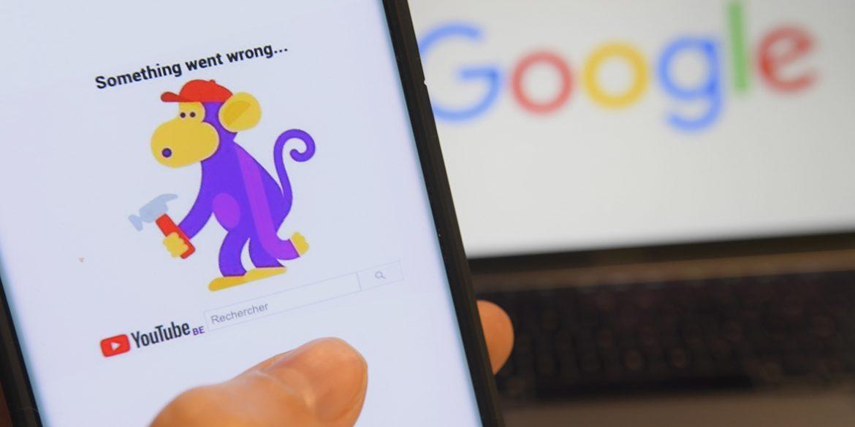 У роботі Google стався масовий збій