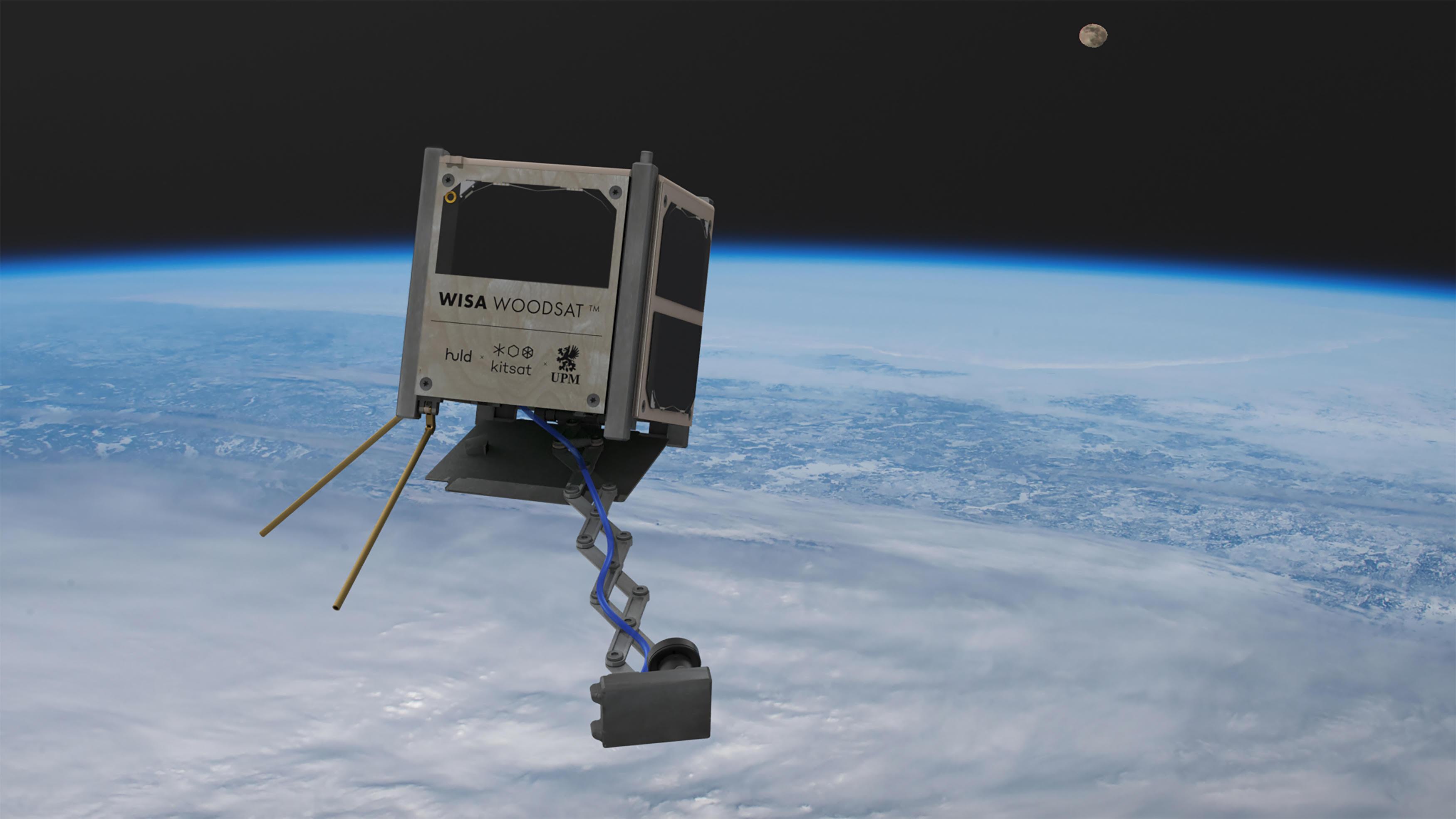 У космос запустять перший в історії дерев'яний супутник
