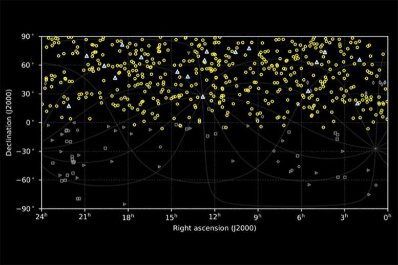 Ученые снова зафиксировали загадочные радиосигналы из космоса