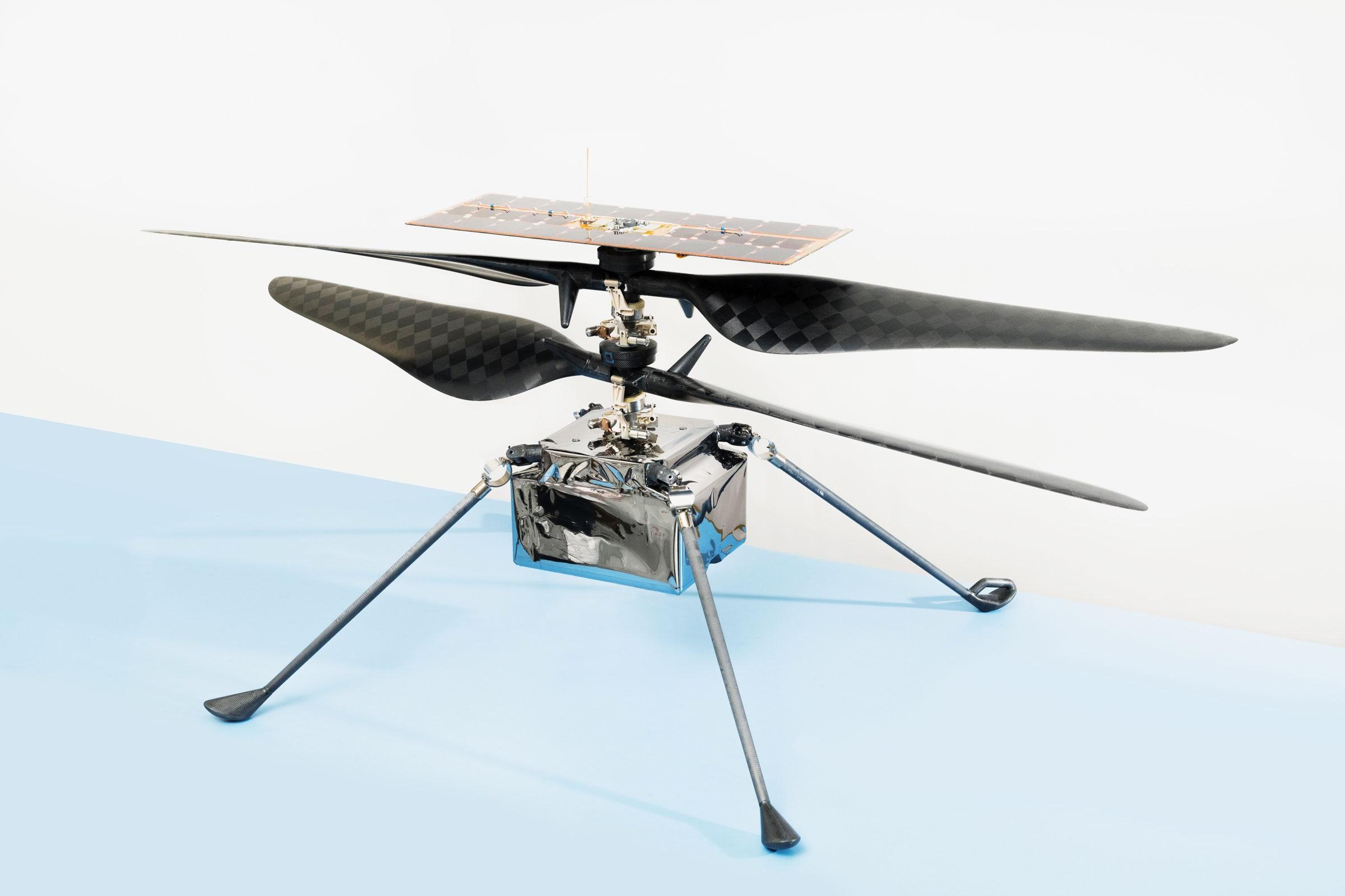 Вертоліт Ingenuity усьоме піднявся на Марсі та зробив нові фото