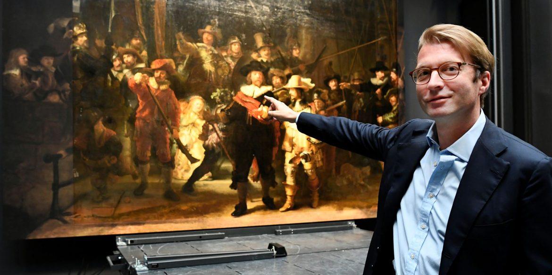 Штучний інтелект домалював втрачені частини картини «Нічний дозор» Рембрандта