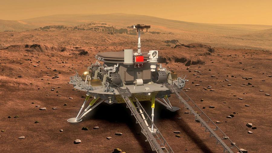 Китай у 2033 році відправить роботизований екіпаж на Марс для будівництва своєї бази