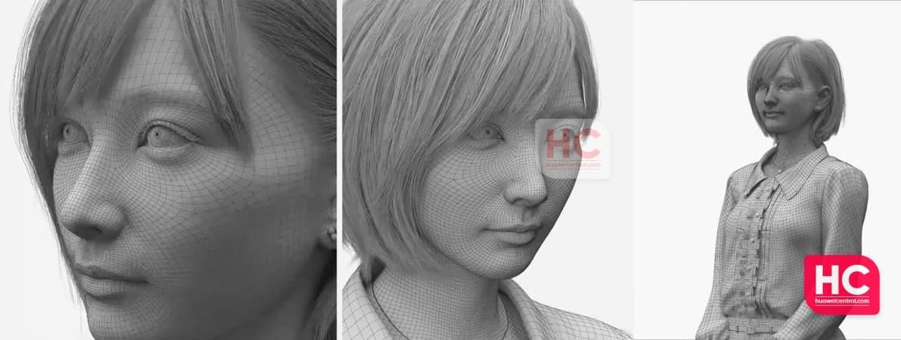 Huawei представила першу віртуальну людину. Відео