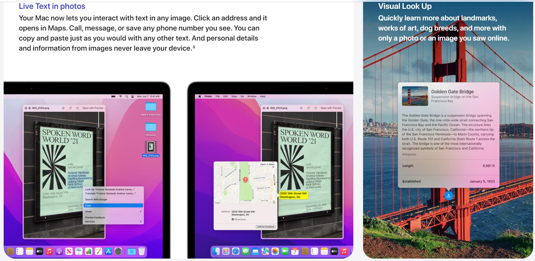 Які сервіси з'явились у новій macOS 12 Monterey