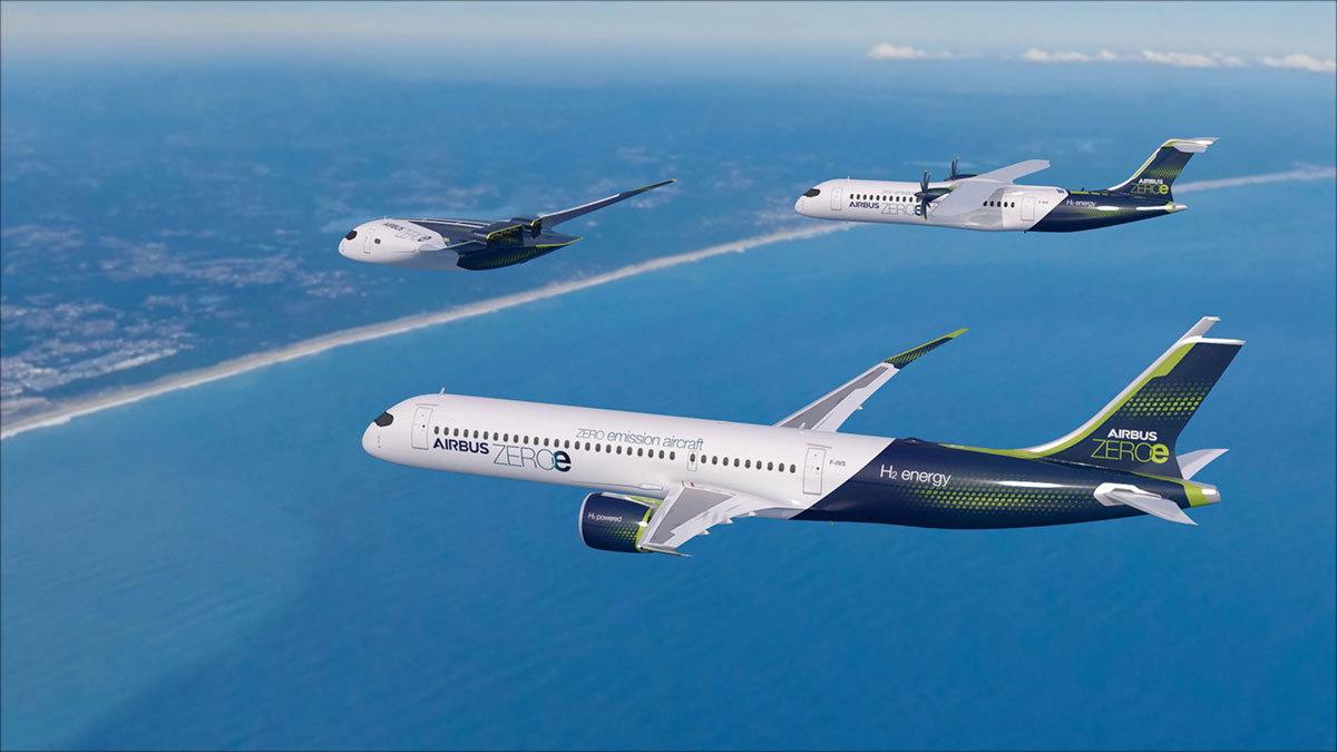 Airbus начал разрабатывать главный компонент водородного самолета