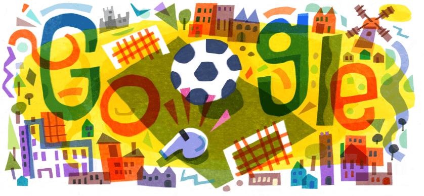 Google выпустил дудл в честь начала Евро-2020