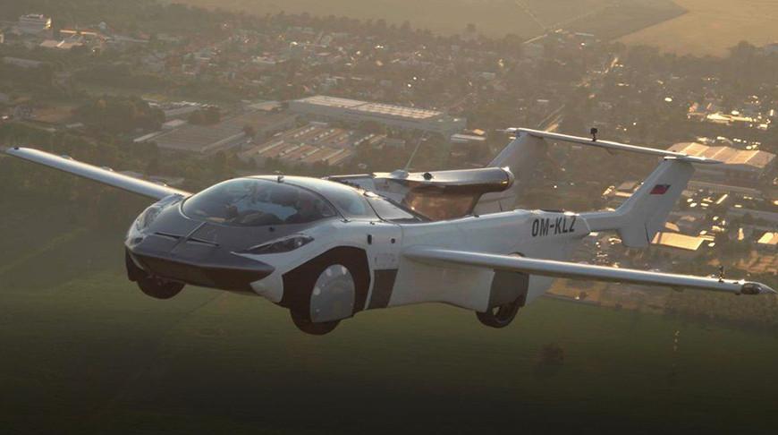 Літаючий автомобіль AirCar здійснив перший 35-хвилинний переліт