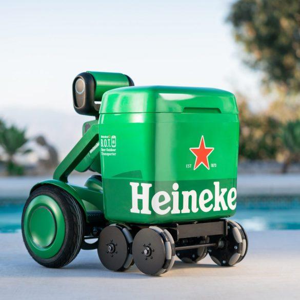 Heineken представив робот-холодильник зі штучним інтелектом, який сам доставляє власнику пиво