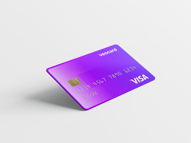 Moneyveo с партнерами презентовала собственную платежную карту Veocard