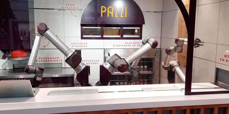 У Парижі відкрилася піцерія, в якій готують роботи