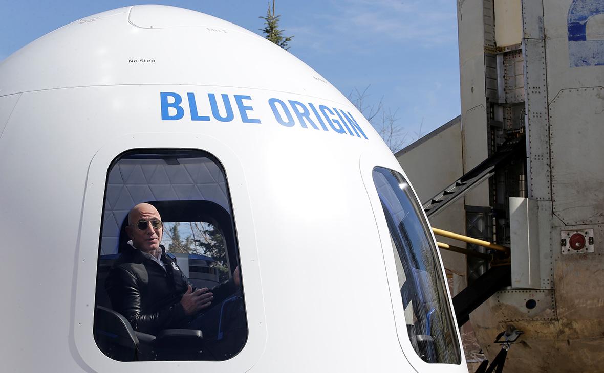 Джефф Безос продав квитків у космос на $100 мільйонів