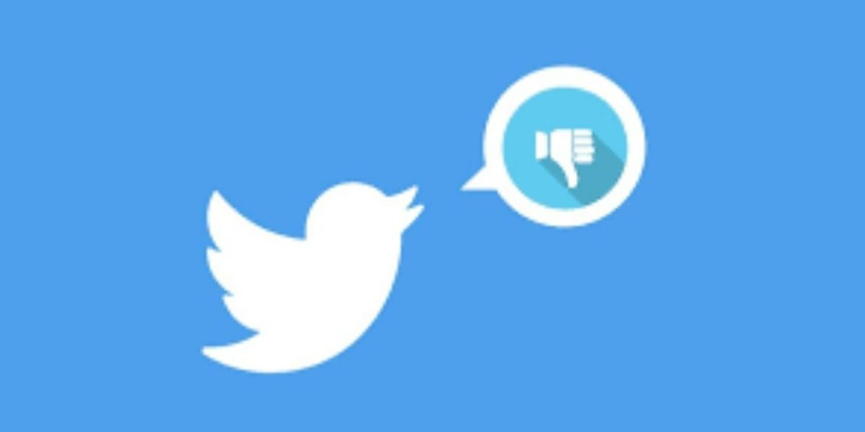 У Twitter з'явилася кнопка дизлайку