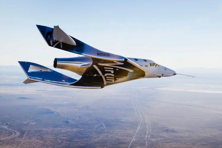 Virgin Galactic выполнит первый туристический полет в космос - трансляция