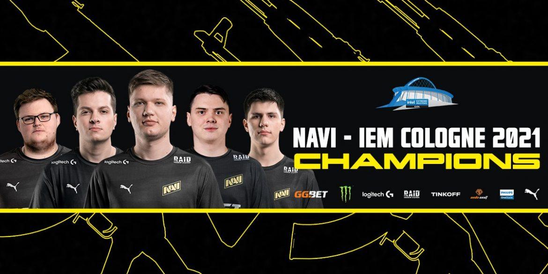 Українська кіберспортивна команда Natus Vincere перемогла на турнірі IEM Cologne 2021