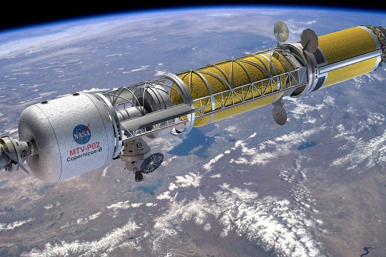 NASA почала розробку ядерного космічного двигуна