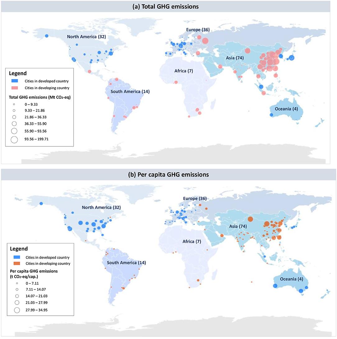 Які 25 міст світу викидають найбільше парникових газів - карта