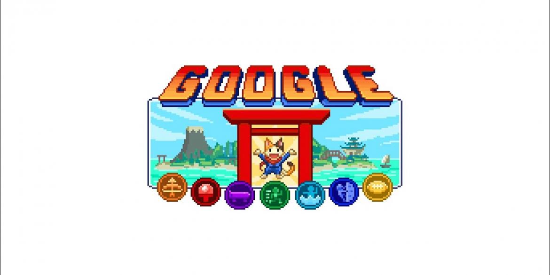 На честь Олімпіади в Токіо Google випустив дудл-відеогру
