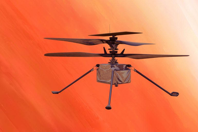 Вертолет Ingenuity совершил самый длинный и сложный полет на Марсе. видео